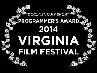 Field Notes Wins Programmers Award at Virginia Film Festival
