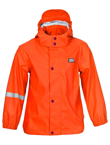 Rukka Kinder Regenjacke Joshi orange