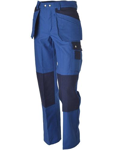 Handwerkerhose royalblau-blau