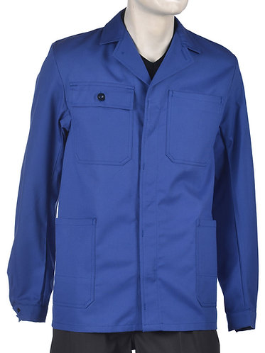 Arbeitsjacke Basic blau
