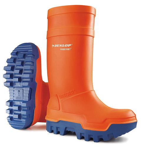 Dunlop Purofort Thermo+ Gummistiefel orange (S5 Sicherheitsstiefel)