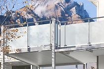 Balkone mit Geländerfüllung