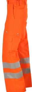 Warnschutzhose-Arbeitshose-orange-EN471-