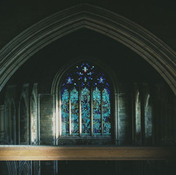 A window to a Stained Glass Window