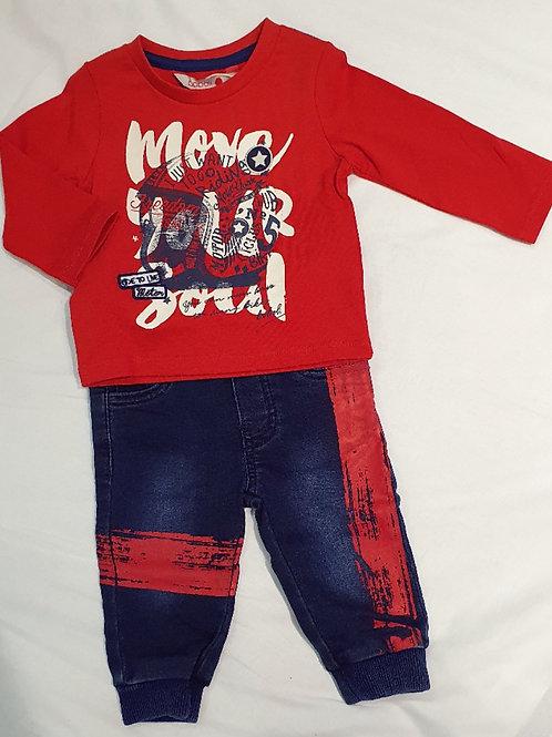 jeans setje minibanda