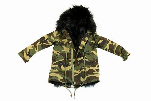 Camouflage jas