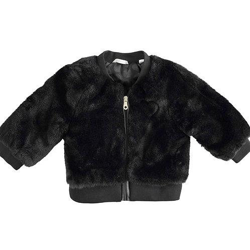 faux fur jasje  minibanda