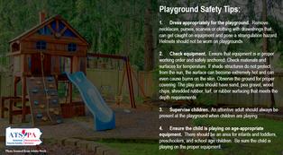 Playground safety tips