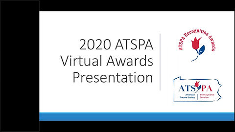A recording of the ATSPA 2020 Annual Recognition Awards Presentation. This was recorded on Dec. 16, 2020.