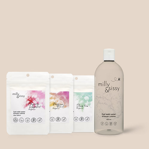 MILLY&SISSY - Gift Pack Shower Crème Trio