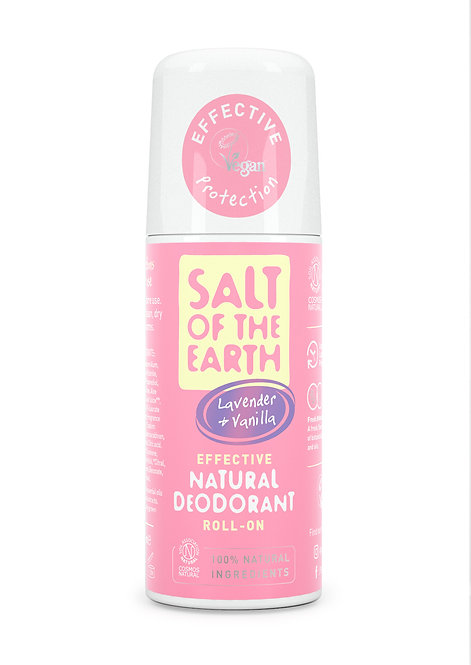 Salt of the Earth - Lavender & Vanilla Natural Roll-On Deodorant