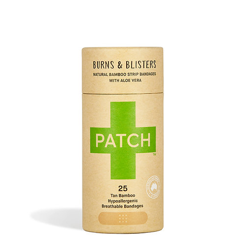 Patch Bamboo Plasters - Burns & Blisters Aloe Vera