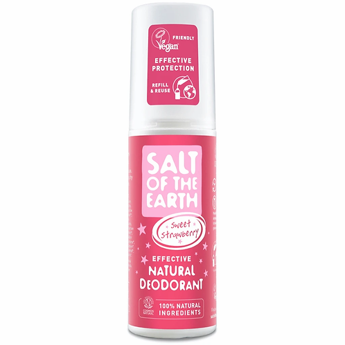 Salt of the Earth - Sweet Strawberry Natural Spray Deodorant