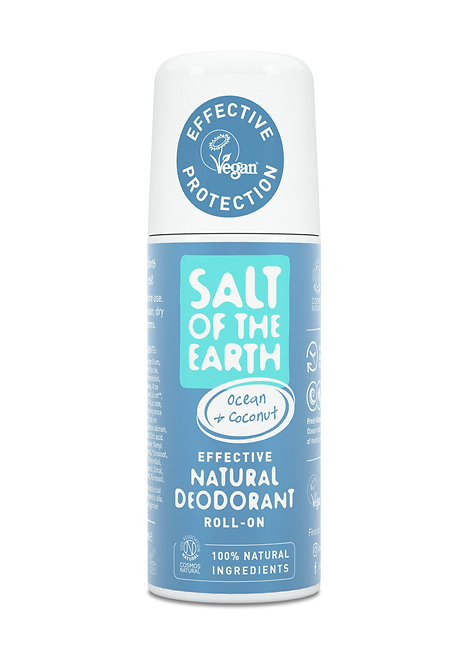 Salt of the Earth - Ocean & Coconut Natural Roll-On Deodorant