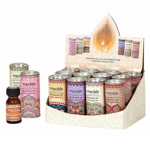 Mandala fragrance oils - 15ml