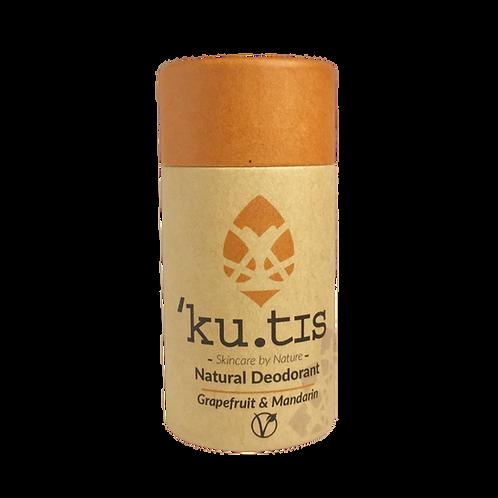 ku.tis Vegan deodorant -Grapefruit & Mandarin
