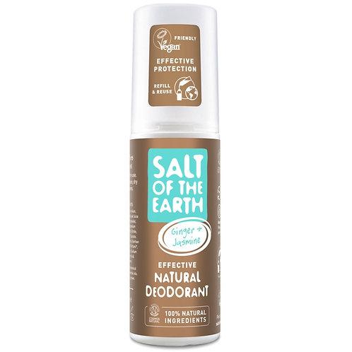 Salt of the Earth - Ginger & Jasmine Spray Deodorant