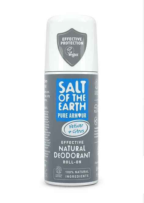 Salt of the Earth - Pure Armour Explorer Natural Roll On Deodorant