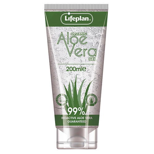 Lifeplan Aloe Vera Gel 200ml Organic