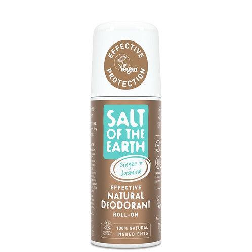 Salt of the Earth - Ginger & Jasmine Roll On Deodorant