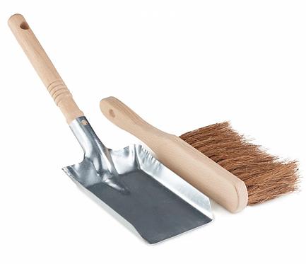 Dust Pan & Brush - FSC 100%