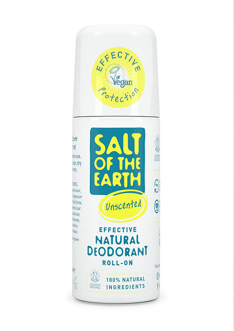 Salt of the Earth - Roll On Deodorant Unscented