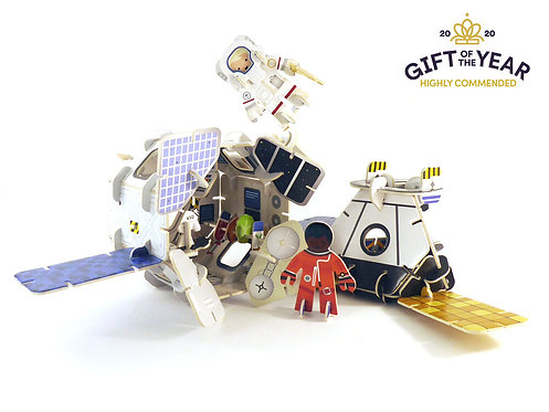 Space Station Pop-out Playset