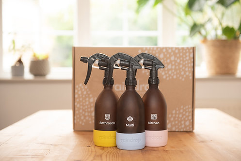 RainDrop - Plastic-Free Cleaning Starter Pack