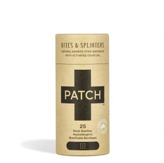 Patch Bamboo Plasters - Bites & Splinters Activated Charcoal