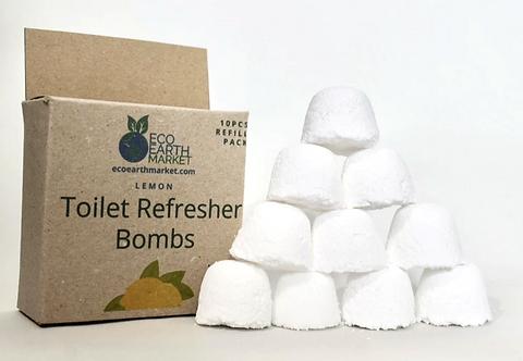 Toilet Refresher Bombs - Lemon