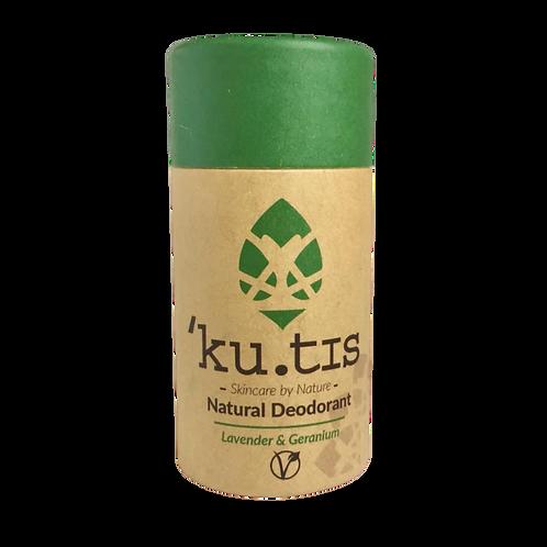 ku.tis Vegan deodorant - Lavender & Geranium