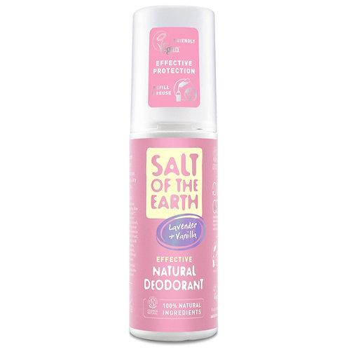 Salt of The Earth - Lavender & Vanilla Deodorant Spray