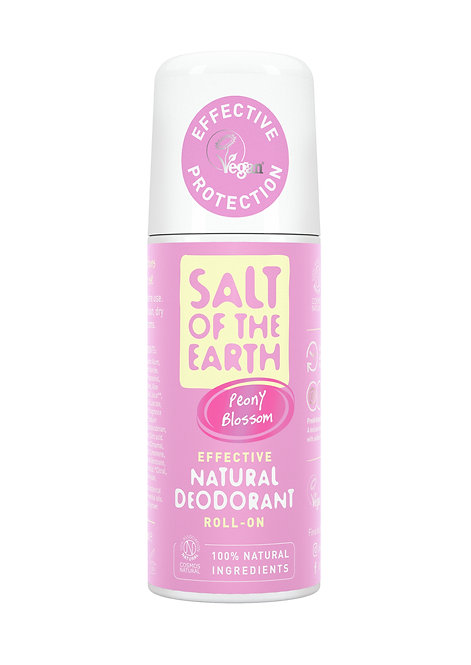 Salt of the Earth - Peony Blossom Natural Roll On Deodorant