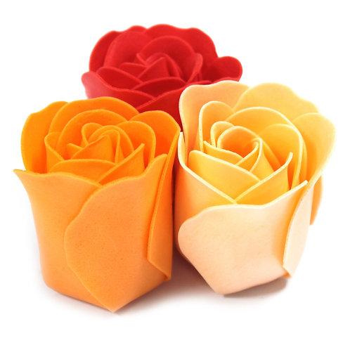 Bath Soap Roses Set of 9 Roses