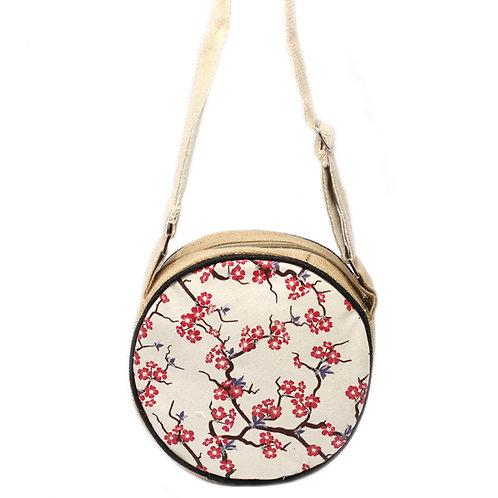 Eco Round Bag - Cherry Blossom