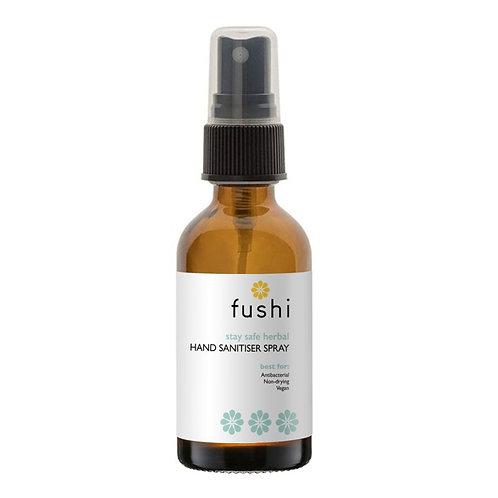 fushi Stay Safe Herbal Hand Sanitiser  50ml, 65% Alc'