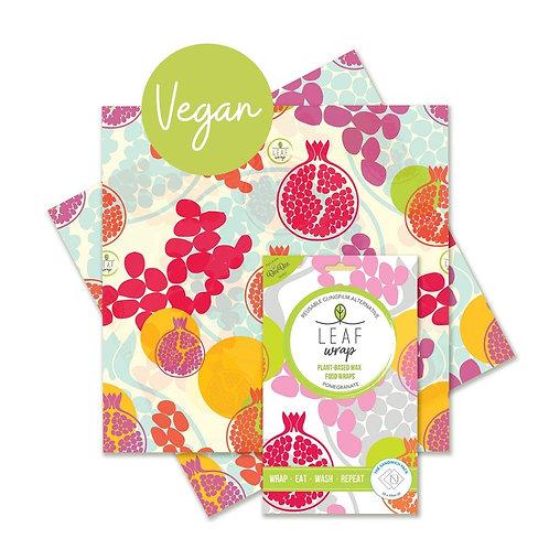 BeeBee Wraps - Vegan Leaf - The Sandwich pack