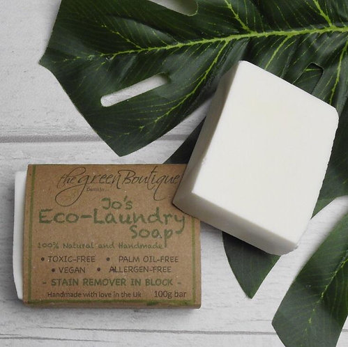Jo's Eco-Laundry Soap Bar 100gr