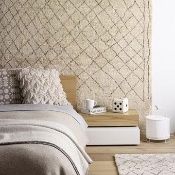 tete de lit tapis