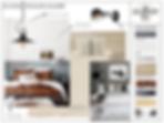 moodboard chambre planche tendance gallishop
