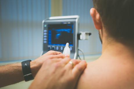 Skuldersmerter - ultralydundersøkelse og trykkbølgebehandling