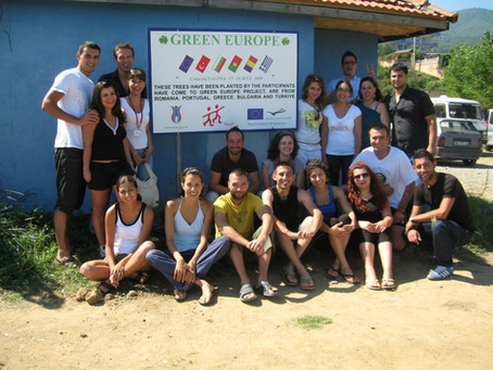 """Our First Project """"Green Europe"""" which we implemented in July 2009"""