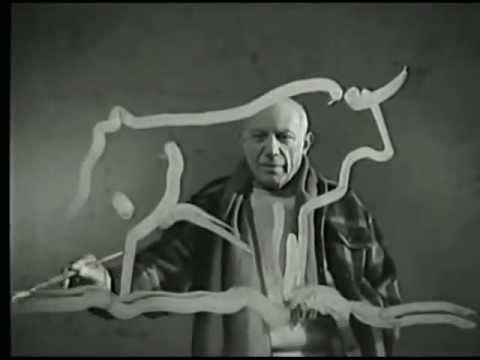 Extrait du film Le mystère Picasso, de François Clouzot
