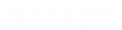Logo branco da Auster Tecnologia