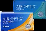 Imagem de lentes de contato Air Optix