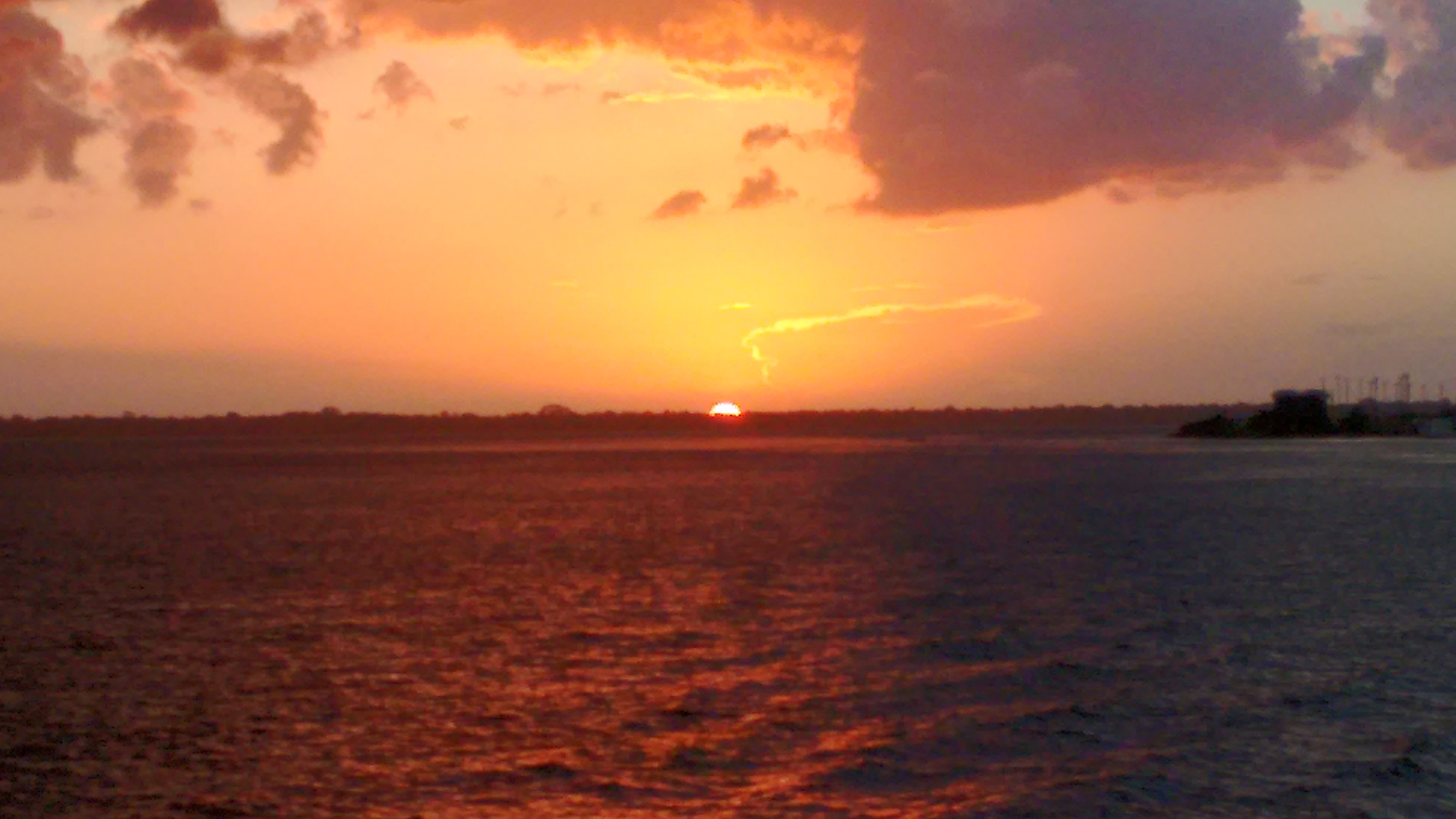 Pôr do sol Amazônico