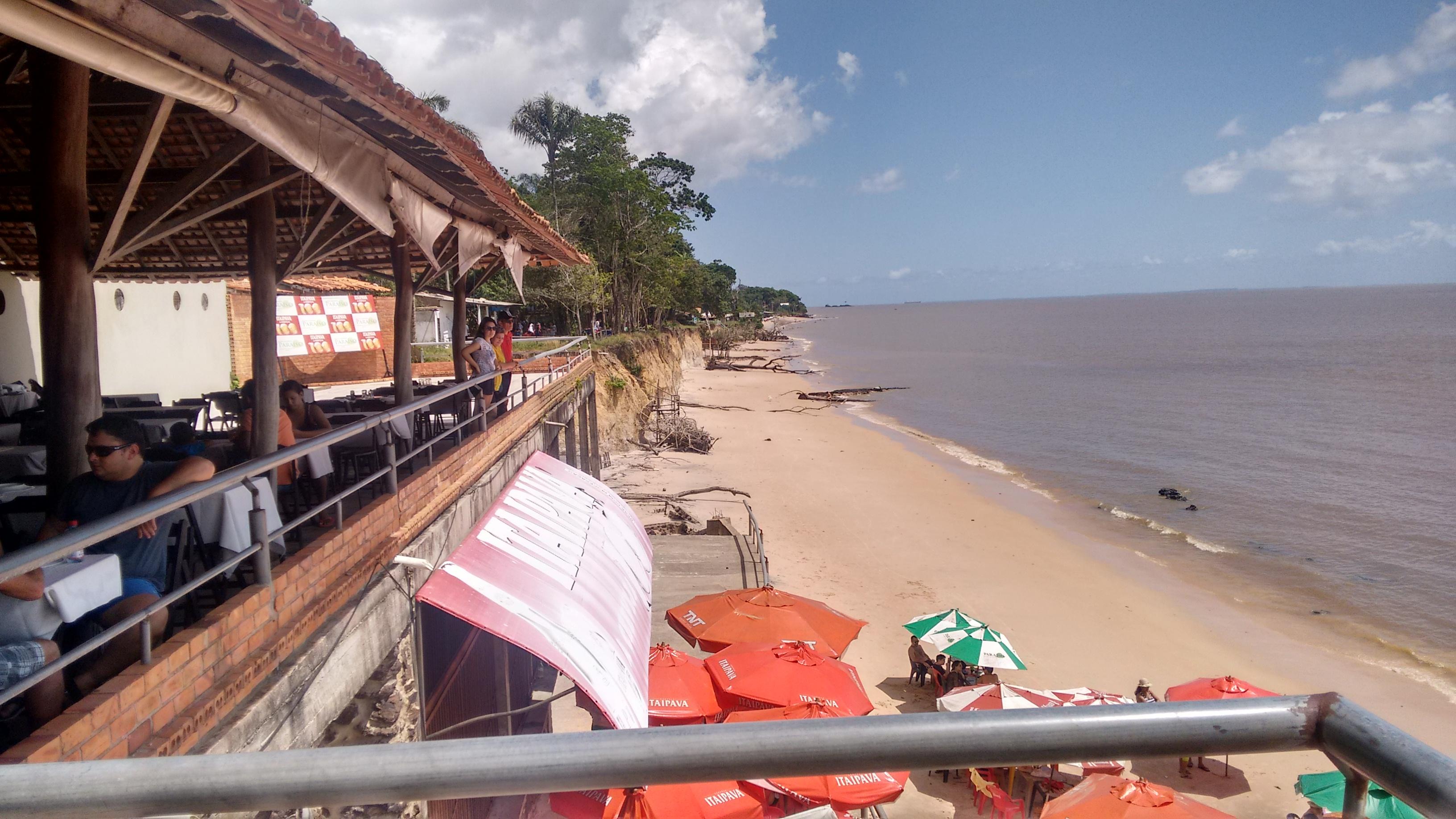 Restaurante da praia do Paraíso