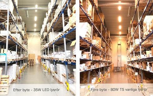 jämförelse LED