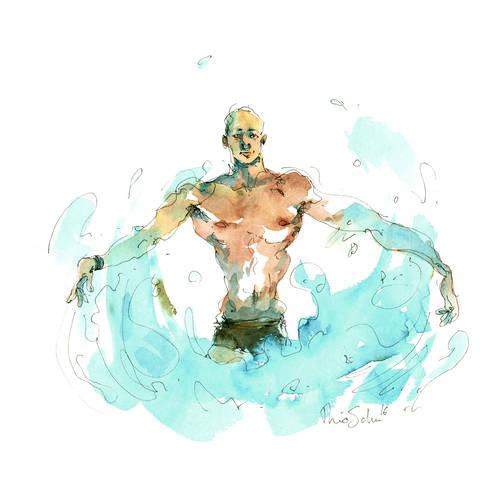 La natation synchronisée