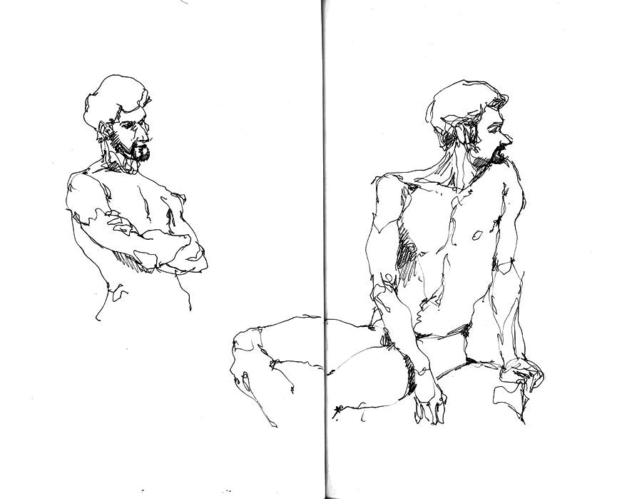 Modèle nu - Jean
